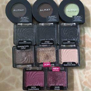 Bundle! NWT Almay & wet&Wild eye shadows SEALED